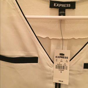 Express Zipper Tank Top